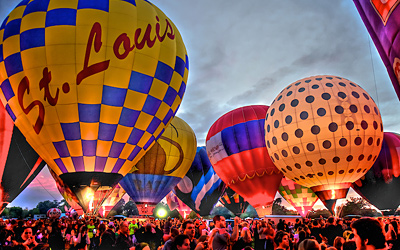 Great Forest Park Balloon Glow and Balloon Race